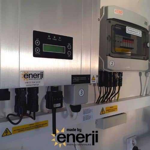 Instalacja Fotowoltaiczna Enerji - Inwerter