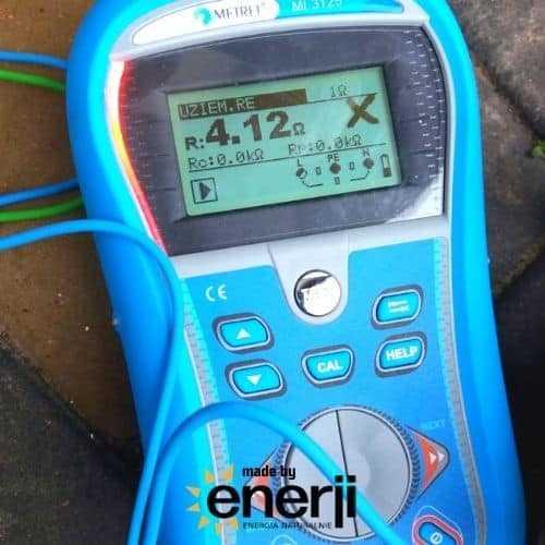 Instalacja Fotowoltaiczna Enerji - pomiar