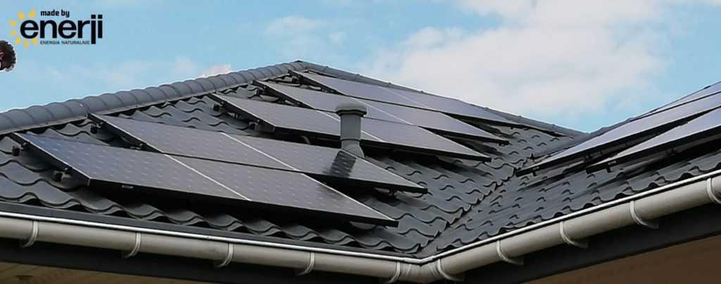 Enerji fotowoltaika dla domu - województwo mazowieckie - pokrycie dachu