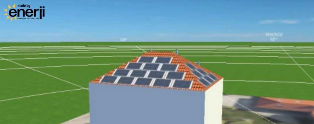 Enerji Instalacja Fotowoltaiczna dla domu - projekt