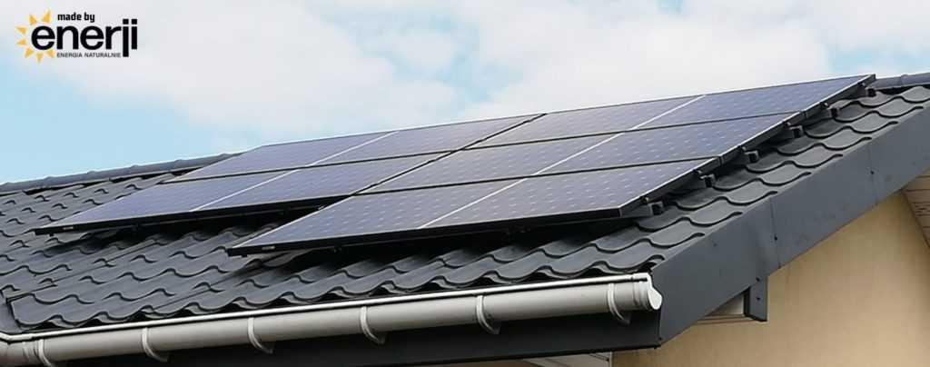Enerji fotowoltaika dla domu - województwo mazowieckie dach skośny
