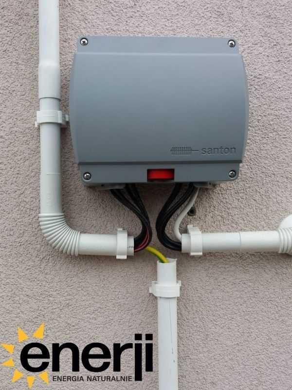 Wyłącznik przeciwpożarowy - instalacja fotowoltaiczna Enerji