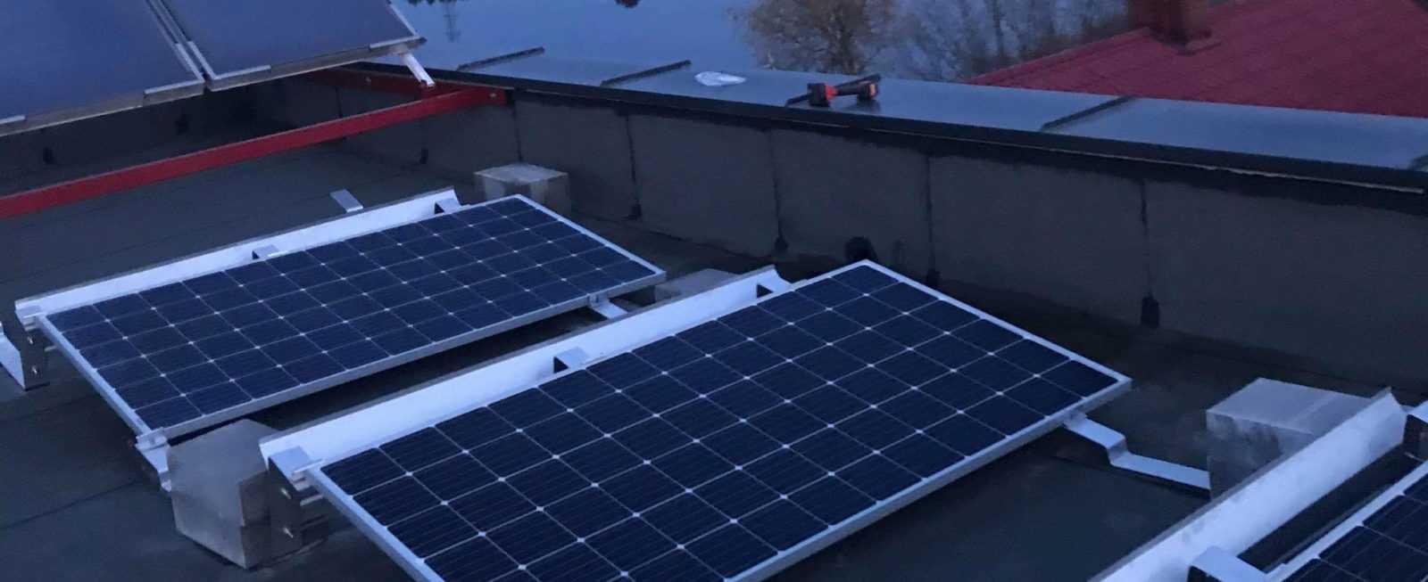 Fotowoltaika Płock 7,40 kWp - dach płaski
